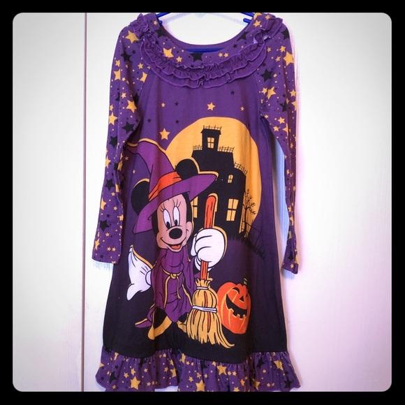 disney pajamas halloween girls nightgown size 56 poshmark